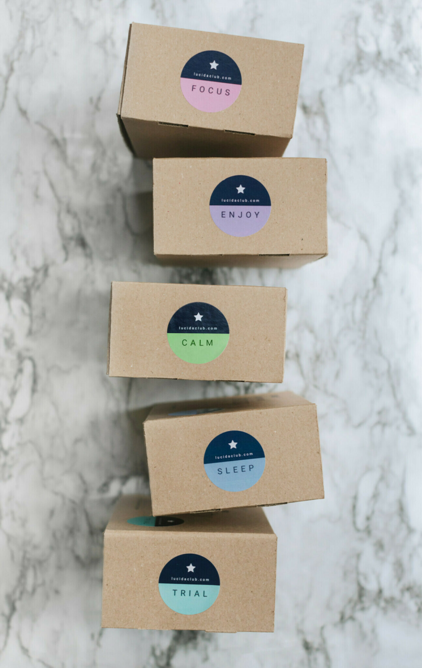 Lucida Club Stacked Boxes